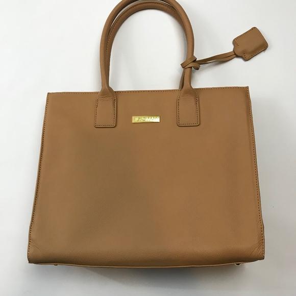 e6ee030d60da Joy and Iman Handbags - JOY & IMAN Genuine Leather Hollywood Handbag